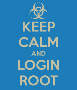 keep-calm-and-login-root